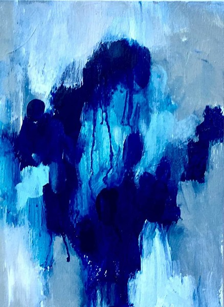 Movement in Blue #2