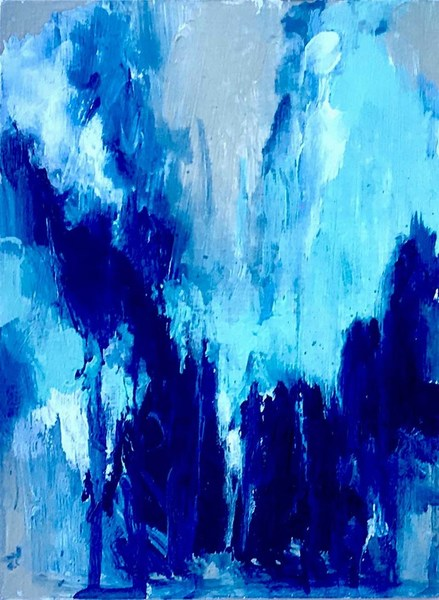 Movement in Blue #1